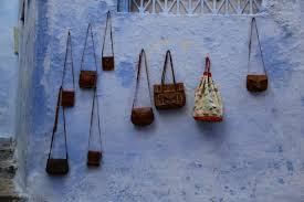 Leather handbags of Greek production
