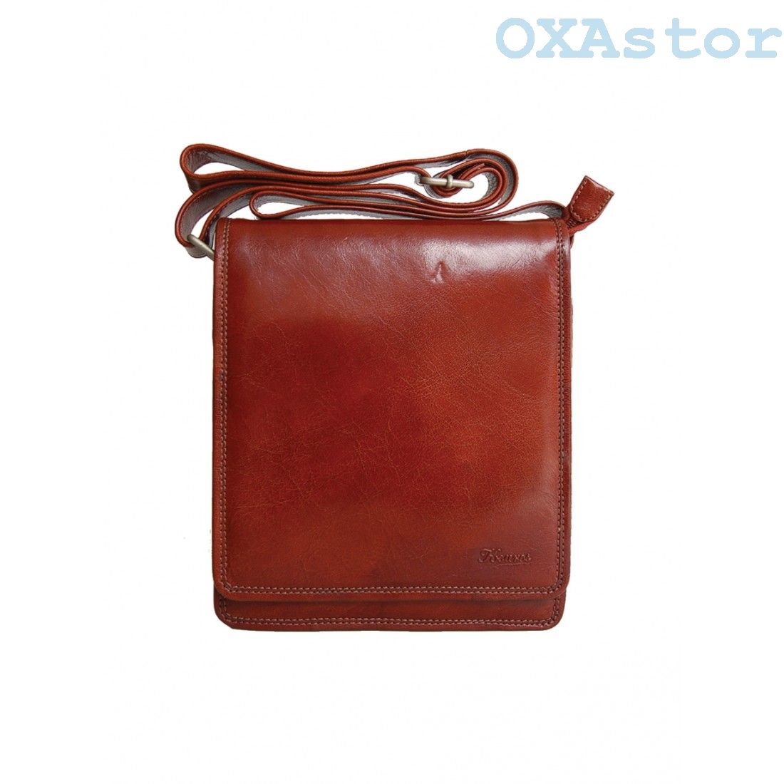 Leather man's bag