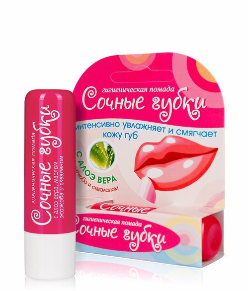 "HYGIENIC LIPSTICK ""JUICY SPONGES"""